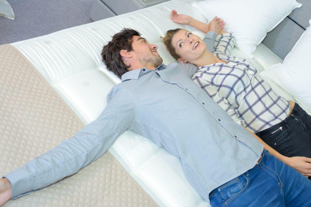 Die richtige Matratze nimmt den Druck